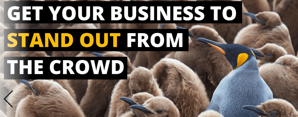 How can your business Stand out from the crowd?