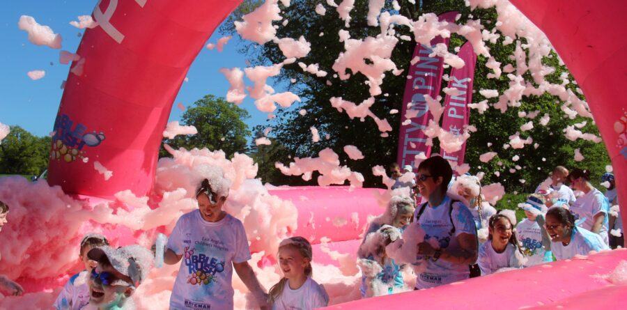 Bubble Rush tickets proving popular with sales soaring